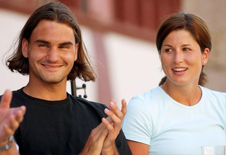 Federer thay đổi đáng kể sau khi gặp Mirka