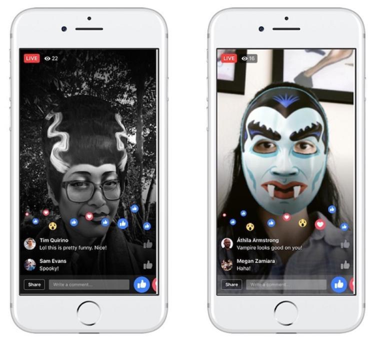 Facebook vừa tung ra nhiều tính năng thú vị cho Halloween, bạn đã biết chưa?