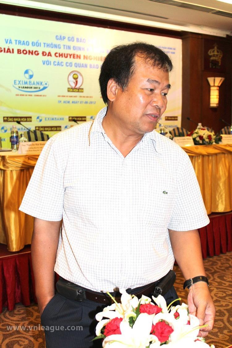 Trưởng Ban kỷ luật Nguyễn Hải Hường.