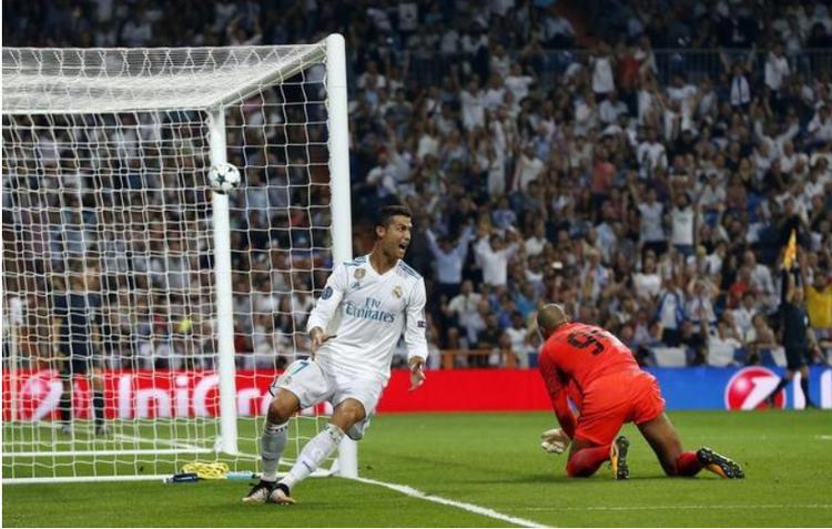 Ronaldo rất có duyên ghi bàn tại Champions League