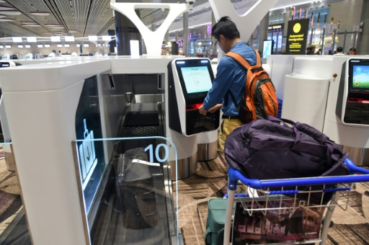 Hệ thống nhận diện khuôn mặt mới tại sân bay Changi