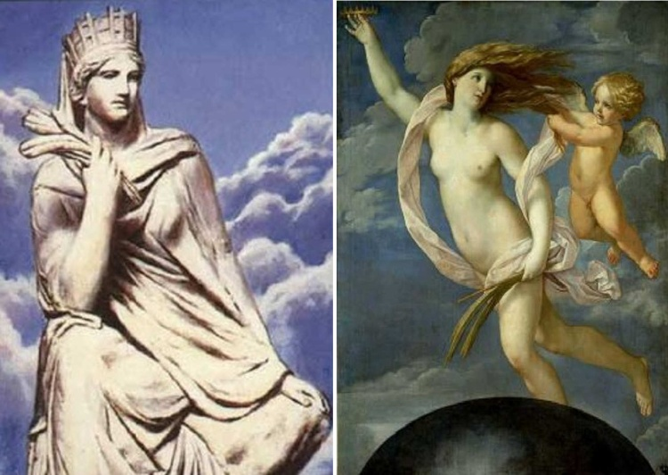 Tyche, nữ thần của vận may