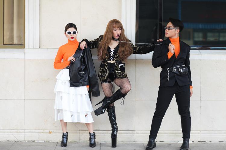 3 Quán quân Next Top Model đồng loạt khoe street style làm sáng rực cả phố đi bộ Hồ Gươm