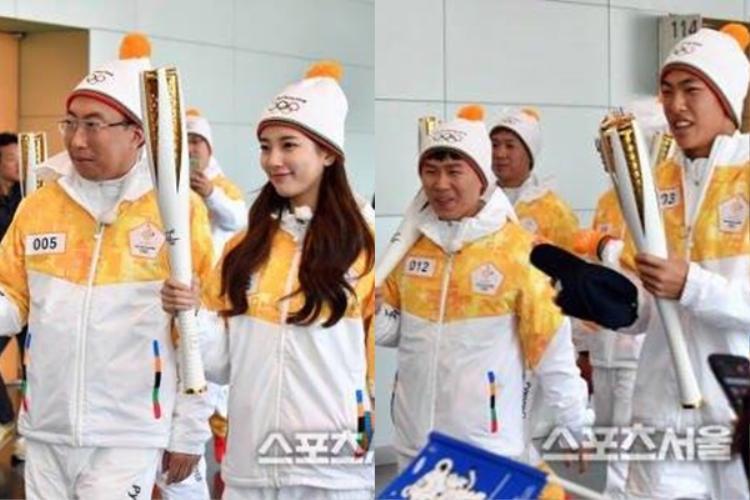 Buổi ghi hình còn có sự tham gia của nữ thần Suzy và rất nhiều vận động viên.