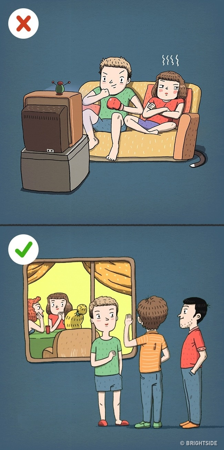 Ai cũng có không gian riêng tư cho bản thân mình.