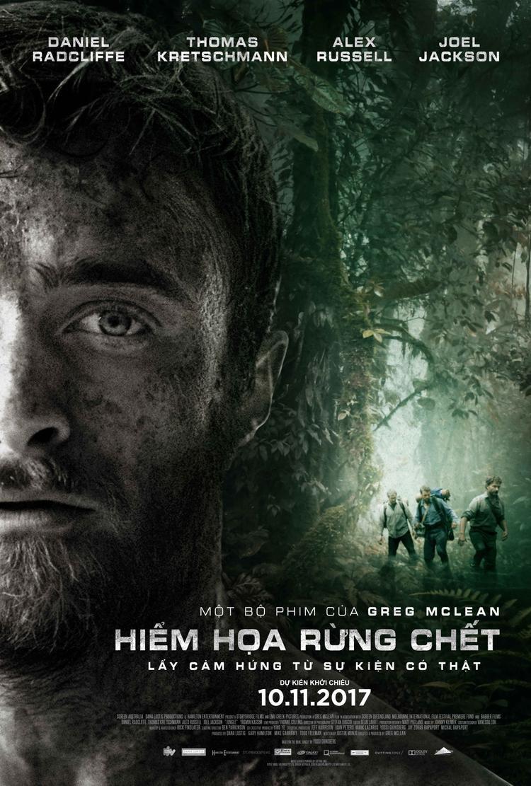 Harry Potter gây choáng với tạo hình già đi hơn 20 tuổi trong phim Hiểm họa rừng chết