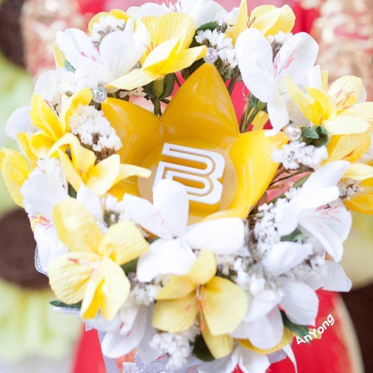 Đóa hoa cưới do V.I.P Việt làm trong ngày lễ trọng đại của đời mình.