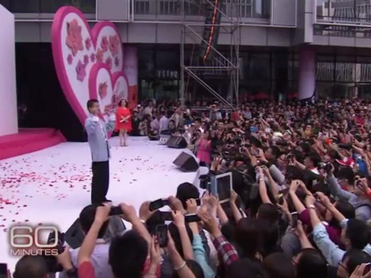 Jack Ma là một biểu tượng cho sự thành công của Trung Quốc. Khi ông thuyết giảng, có rất nhiều người đến đến lắng nghe.