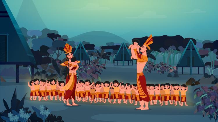 Phim hoạt hình Con Rồng Cháu Tiên  Câu chuyện cũ trên nền màu mới
