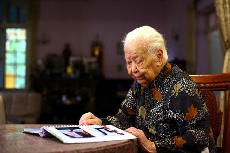 Cụ bà Hoàng Thị Minh Hồ - Ảnh: Linh Tâm. Nguồn: TTO.