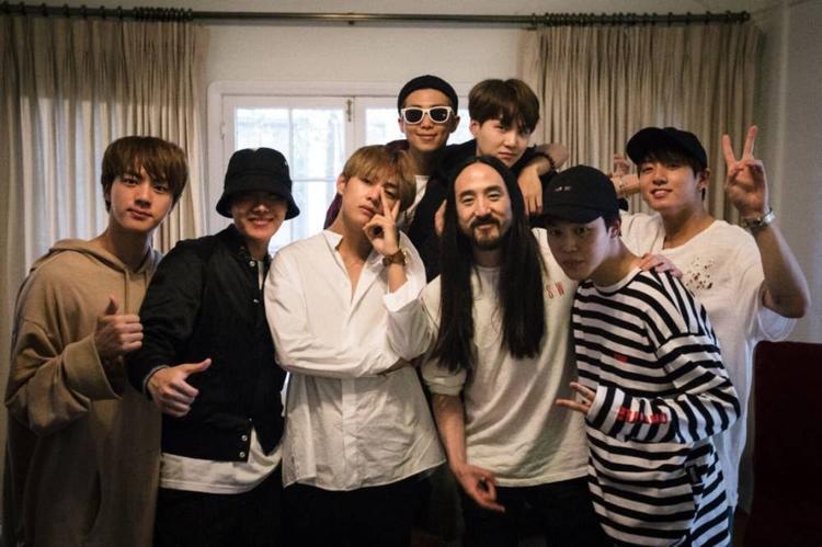 BTS sẽ trở lại với sản phẩm âm nhạc hợp tác cùng Steve Aoki.