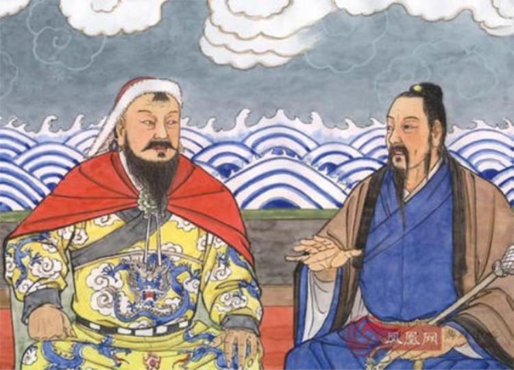 Khưu Xứ Cơ là nhân vật có thật trong lịch sử, từng đàm đạo với Thành Cát Tư Hãn.