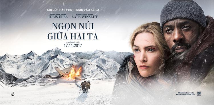 Nàng Rose Kate Winslet cùng Idris Elba viết nên một mối tình khắc cốt ghi tâm trên nền tuyết trắng xóa