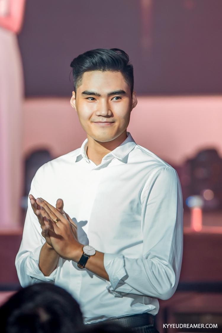 Người mẫu Tạ Quang Hùng đã gắn bó khá lâu với cuộc thi.
