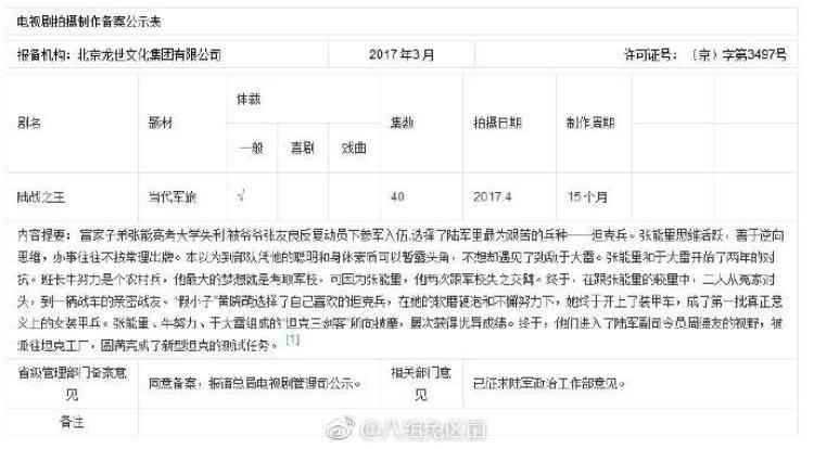 Trần Hiểu và Vương Lôi đã xác nhận tham gia vào dự án Lục Chiến Chi Vương
