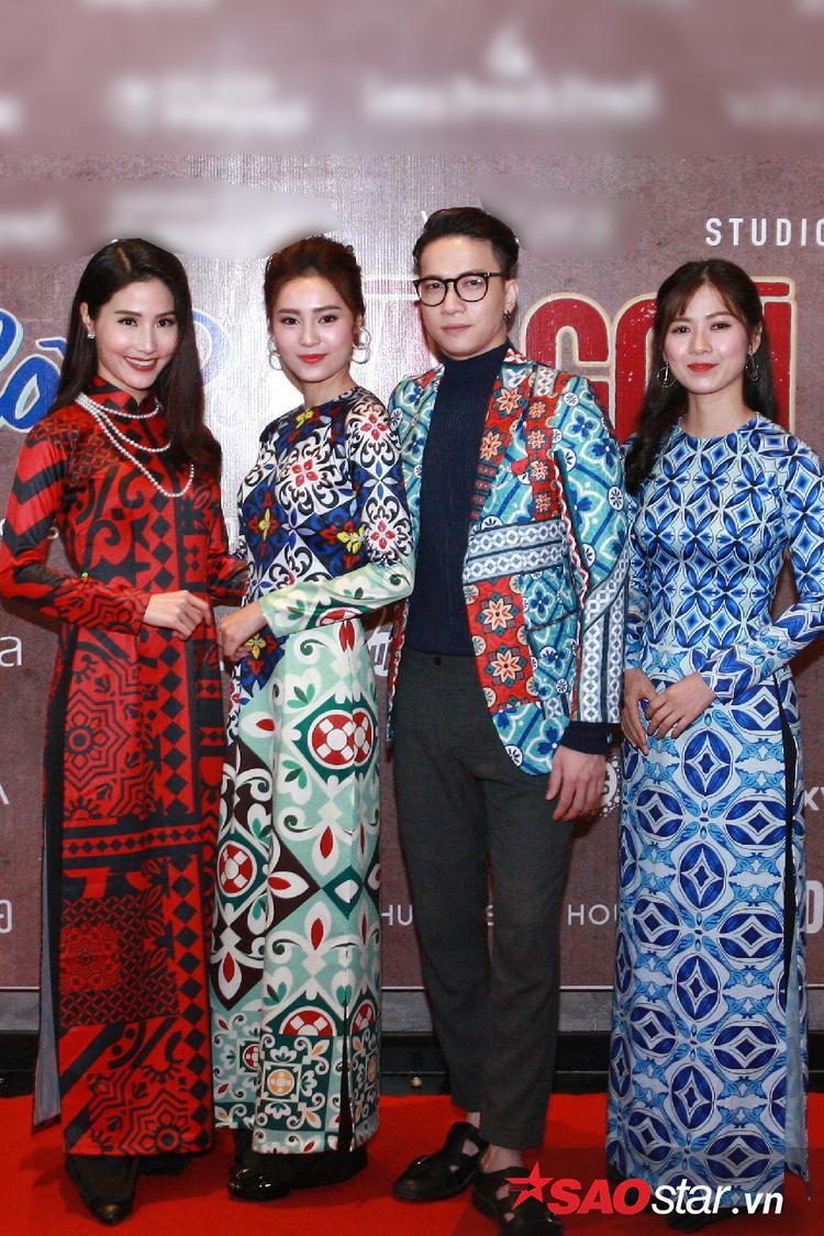 Dàn diễn viên trẻ của phim: Diễm My 9x, Lan Ngọc, S.T, Oanh Kiều