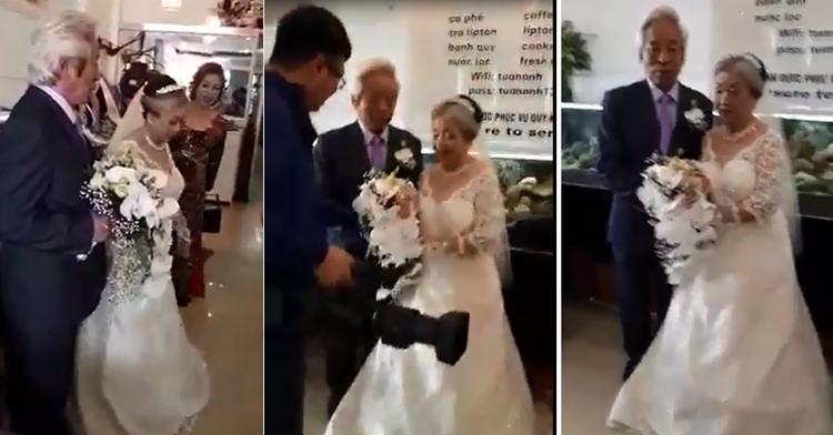 Dù đã 80 tuổi, nhưng cặp đôi Hải Phòng vẫn chịu chơi khi tổ chức đám cưới kim cương