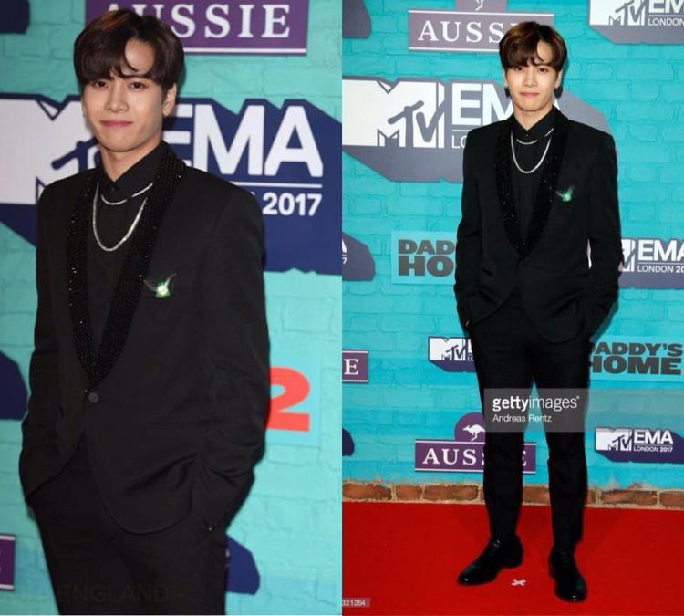 Ngay từ khi vừa xuất hiện trên thảm đỏ, Jackson đã nhanh chóng nhận được sự chú ý của giới truyền thông và khán giả bởi vẻ ngoài cực điển trai và quyến rũ.