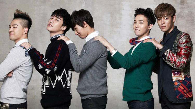 BigBang là nhóm nhạc duy nhất trong danh sách không có sản phẩm âm nhạc mới trong suốt năm 2017.