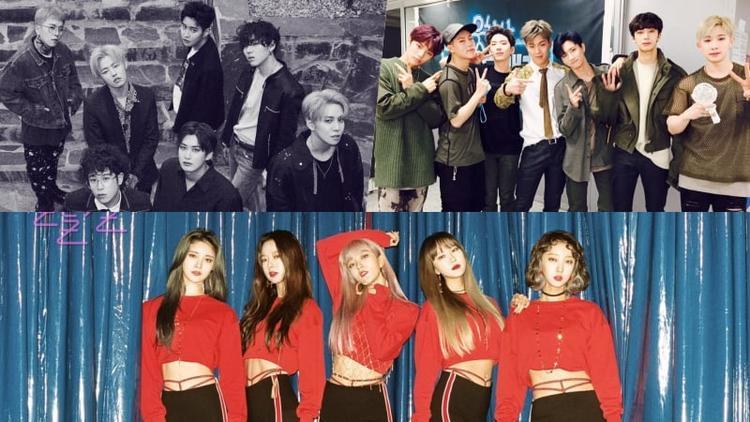 """Và EXID, Block B, Monsta X vào 7/11 có lẽ là 2 ngày """"ná thở"""" nhất đối với các Kpop fan trong thời gian qua."""