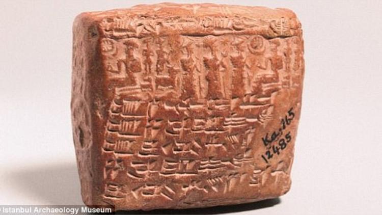Hợp đồng hôn nhân 4000 năm tuổi được phát hiện tại Thổ Nhĩ Kỳ.