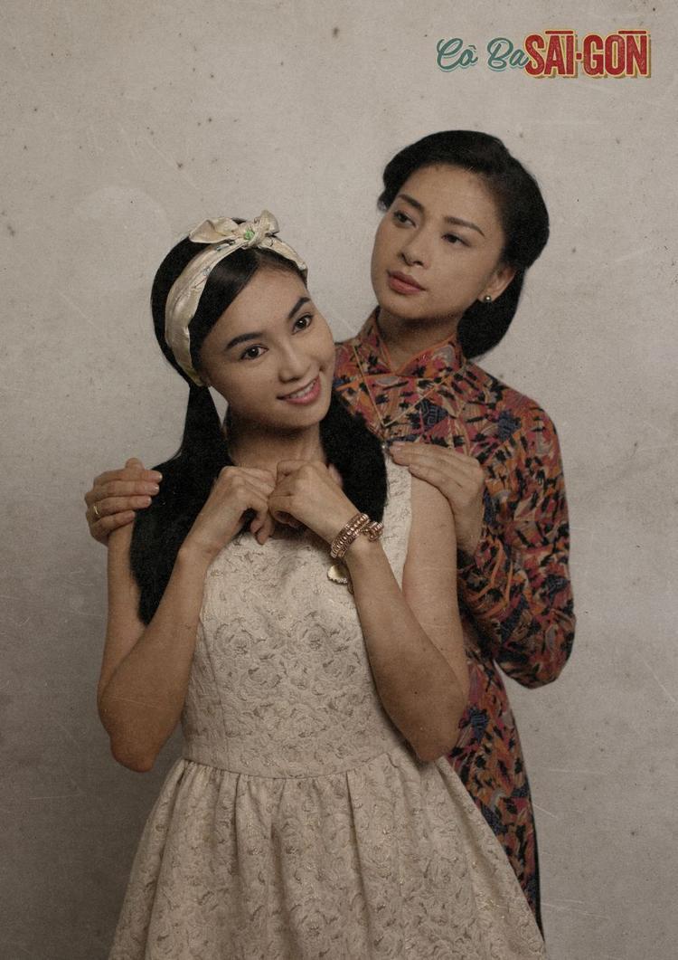 Hai mẹ con Như Ý và Thanh Mai trong phim.