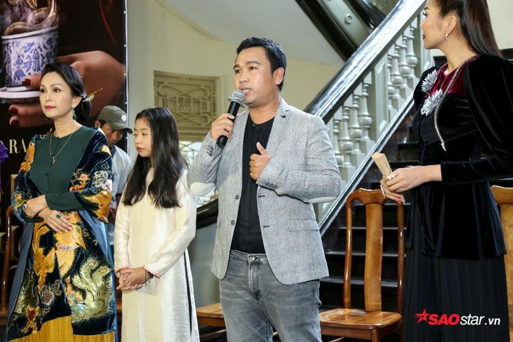 Đạo diễn Lý Minh Thắng tại buổi showcase phim Mẹ chồng.