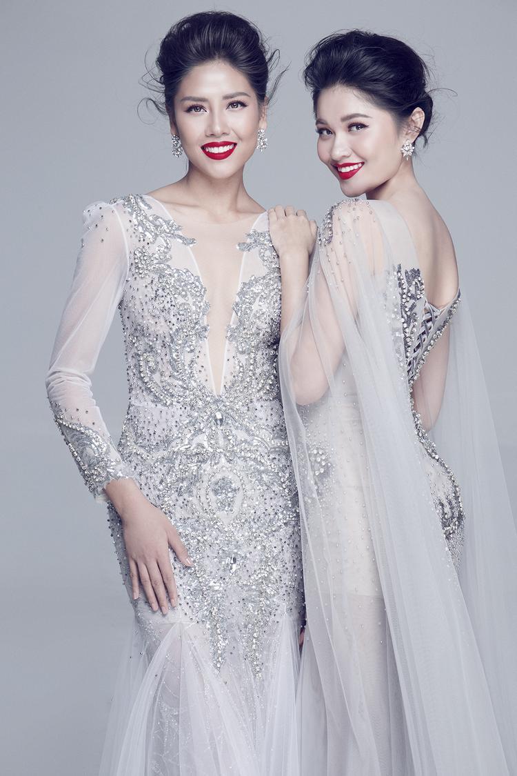 Bận rộn với Miss Universe, Nguyễn Thị Loan vẫn gửi lời chúc may mắn đến Á hậu Thùy Dung