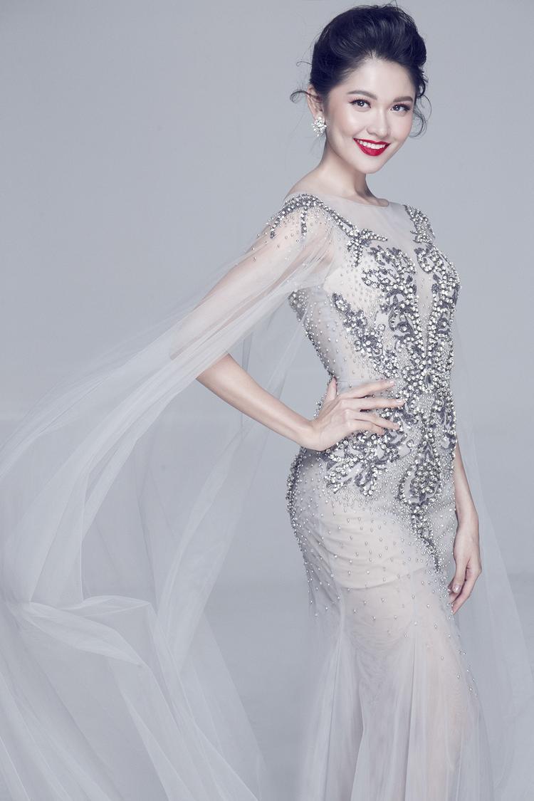Á hậu Thùy Dung đã chuẩn bị tinh thần sẵn sàng tỏa sáng trong đêm chung kết Miss International 2017.