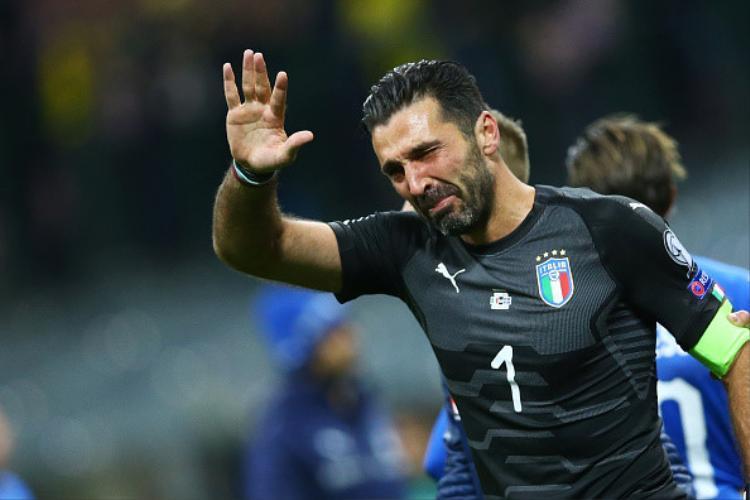 Đêm buồn tận cùng của Buffon và các đồng đội.