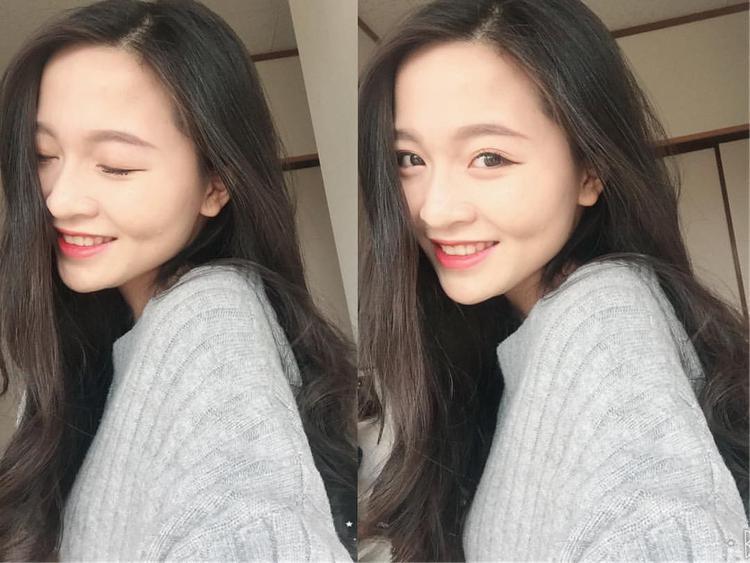 Huyền Trang xinh đẹp không thua kém chị