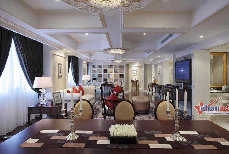 Ngắm phòng nghỉ sang trọng của Tổng thống Trump tại Hà Nội