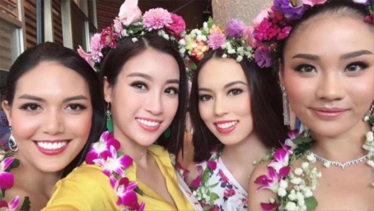 Mỹ Linh đã sẵn sàng để toả sáng cho đêm Chung kết Hoa hậu Thế giới 2017.