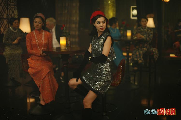 Cảnh trong phim Cô Ba Sài Gòn.