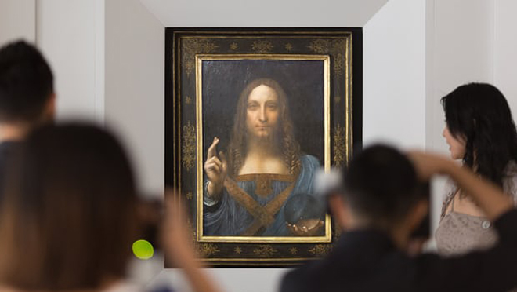 Giá khởi điểm để đấu giá bức họa này là 100 triệu USD.