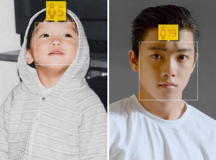 Không có sự khác biệt gì mấy giữa Chris Khoa lúc 5 tuổi và 19 tuổi.