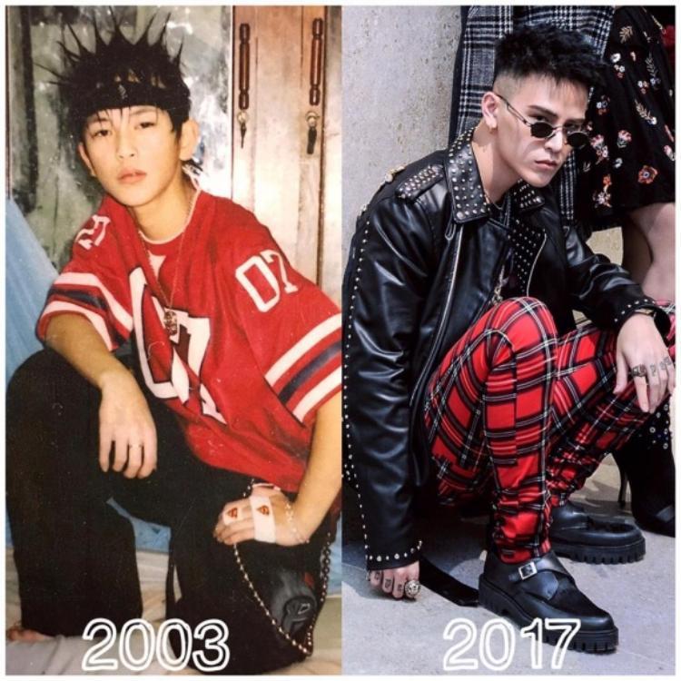 """Thời """"còn trẻ"""", Decao thật sự đã có gu thời trang rất """"dữ dội"""" và khác biệt"""