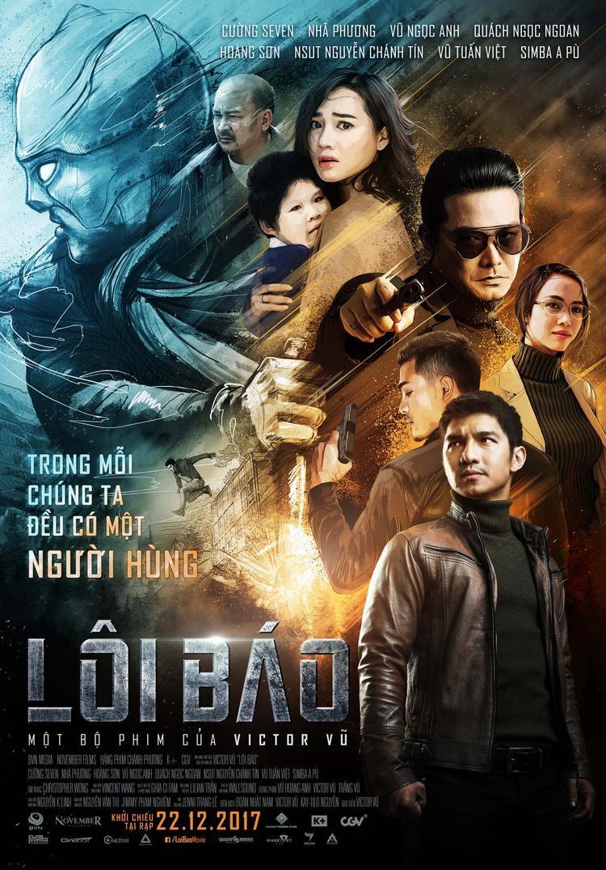 Poster phim Lôi Báo.
