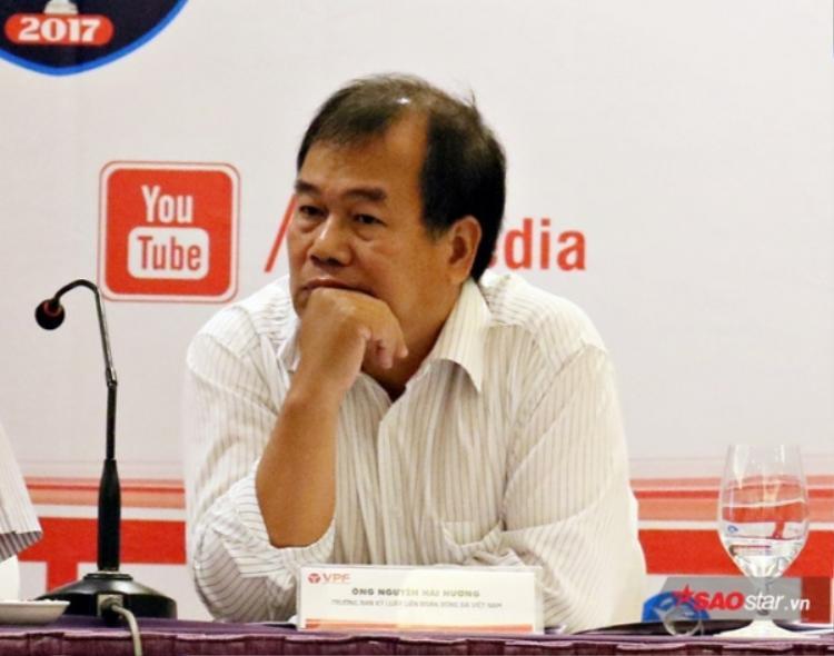 Trưởng ban kỷ luật - Nguyễn Hải Hường.