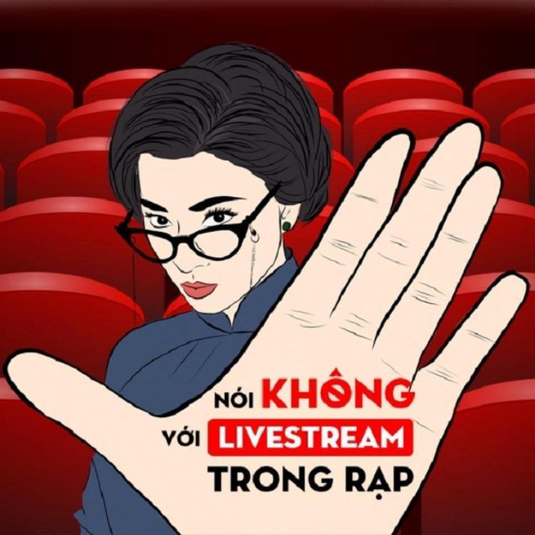 Chiến dịch nói không với phim livestream lén và bảo vệ phim điện ảnh Việt được đông đảo người quan tâm, ủng hộ.