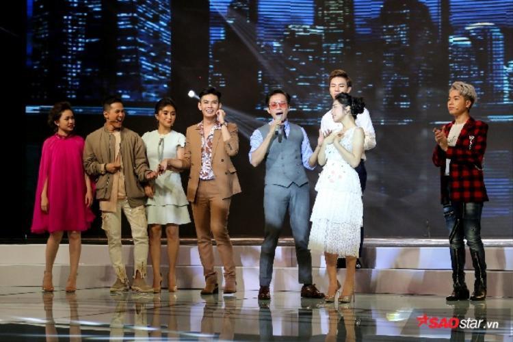 Xuất hiện Bi Rain phiên bản Việt khiến 7 thí sinh Cặp đôi Hoàn hảo đứng ngồi không yên