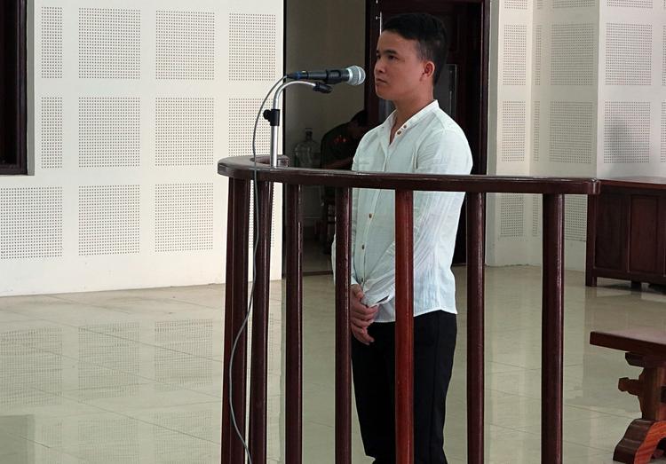 Bị cáo Thao tại phiên tòa.