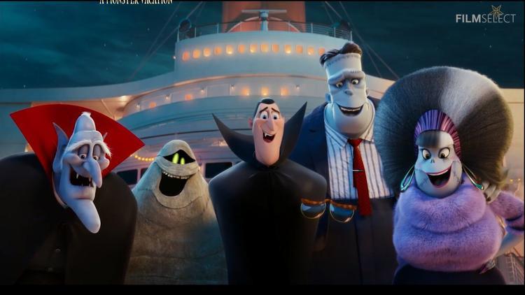 Chán kinh doanh khách sạn, cả nhà Dracula kéo nhau đi du lịch trên siêu du thuyền trong Hotel Transylvania 3