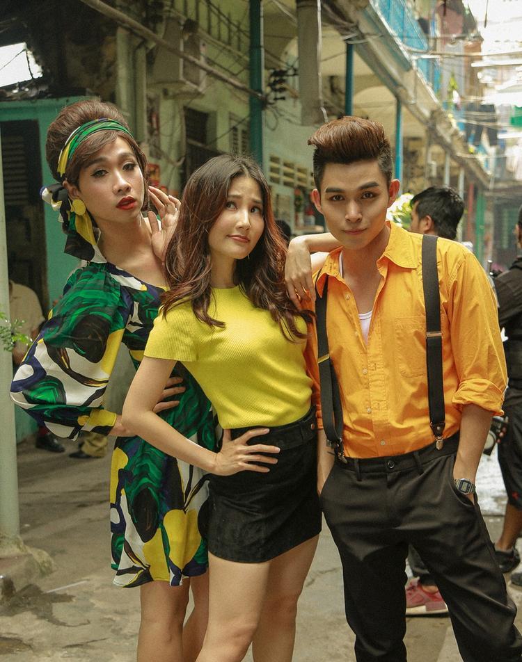 Diễm My 9x thành 'nàng thơ' của Jun Phạm trong MV Ost Cô Ba Sài Gòn