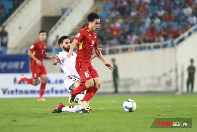 Công Phượng thi đấu không hiệu quả trong trận gặp Afghanistan vừa qua.