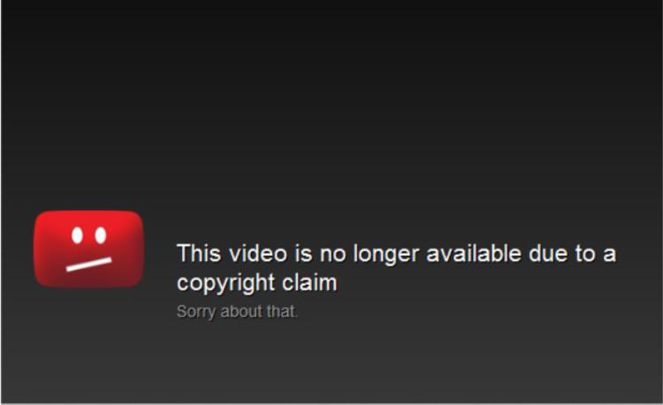 """Nếu bạn lấy đi chất xám của người khác mà không có sự cho phép, sớm muộn gì bạn cũng sẽ bị Youtube """"khai tử""""."""