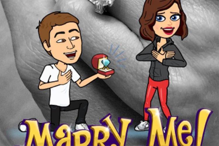 """Tháng 7 năm ngoái, Kerr thông báo đã được Evan Spiegel cầu hôn. """"Tôi đã đồng ý!!!"""" Kerr chia sẻ trên Instagram."""