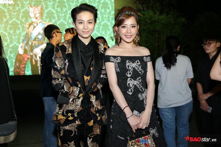 Đồng hành cùng Chi Pu không thể thiếu bóng dáng người bạn thân - Gil Lê.