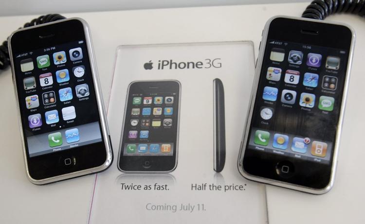 Và có thể bạn không tin, iPhone đời đầu không cho phép thay đổi hình nền. Một màn hình đen là lựa chọn duy nhất.
