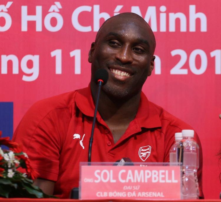 Sol Campbell dự đoán Arsenal hòa Tottenham. Ảnh: Q.T